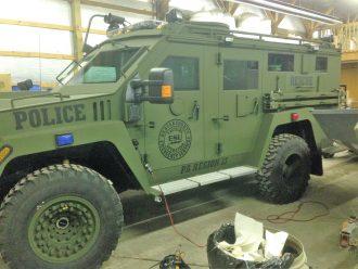 Police Hummer Car Lettering 1 Orig
